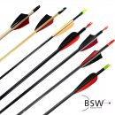 Arrows with vanes - length: 28