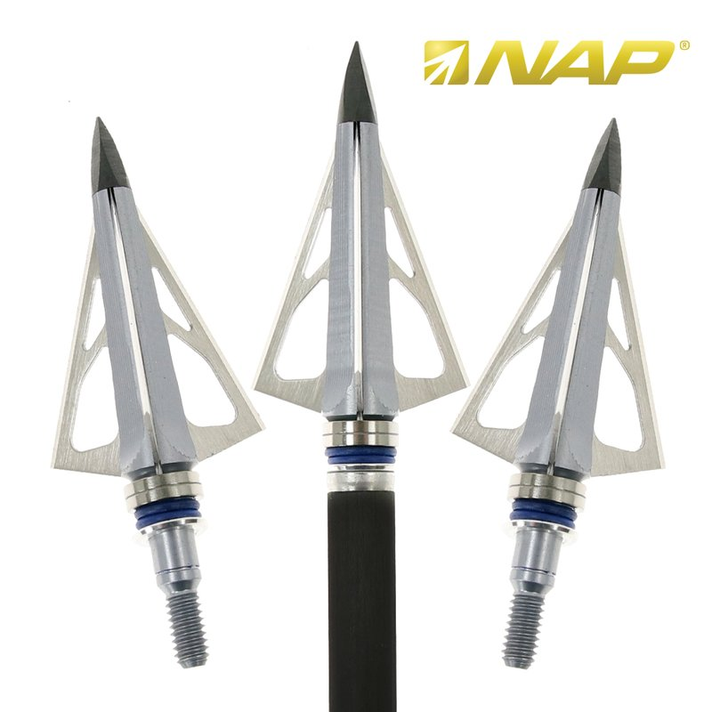 NAP Thunderhead Broadheads - 5 Pieces - 125gr