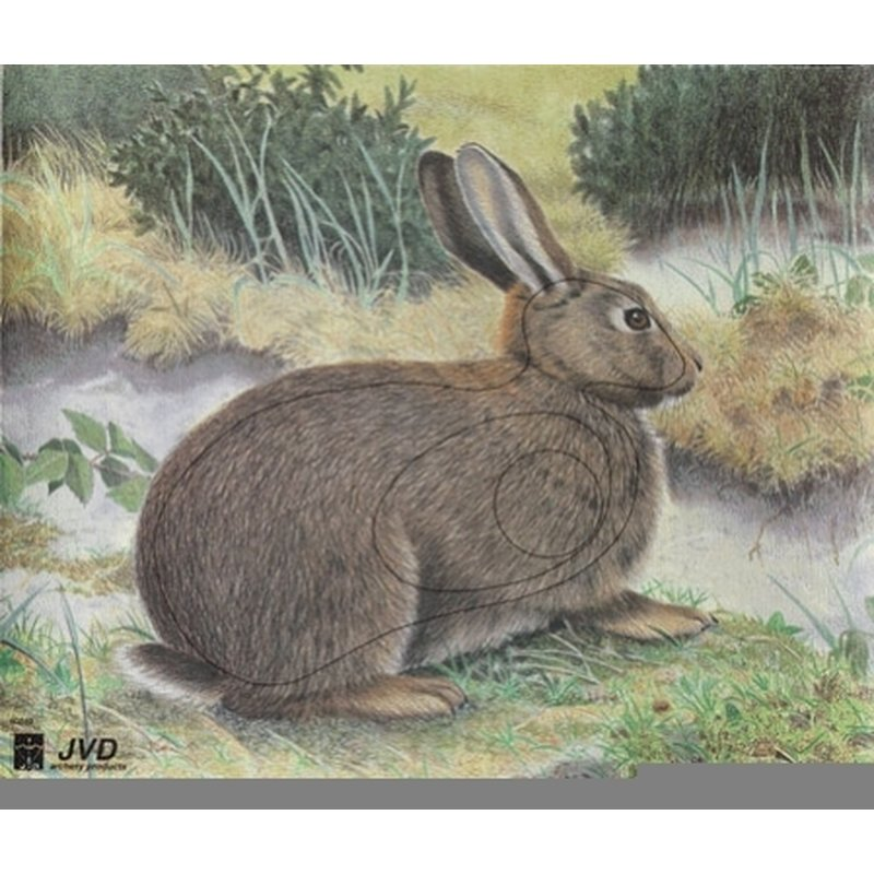 Rabbit 40x33cm - Nylon Reinforced - Animal Target Face
