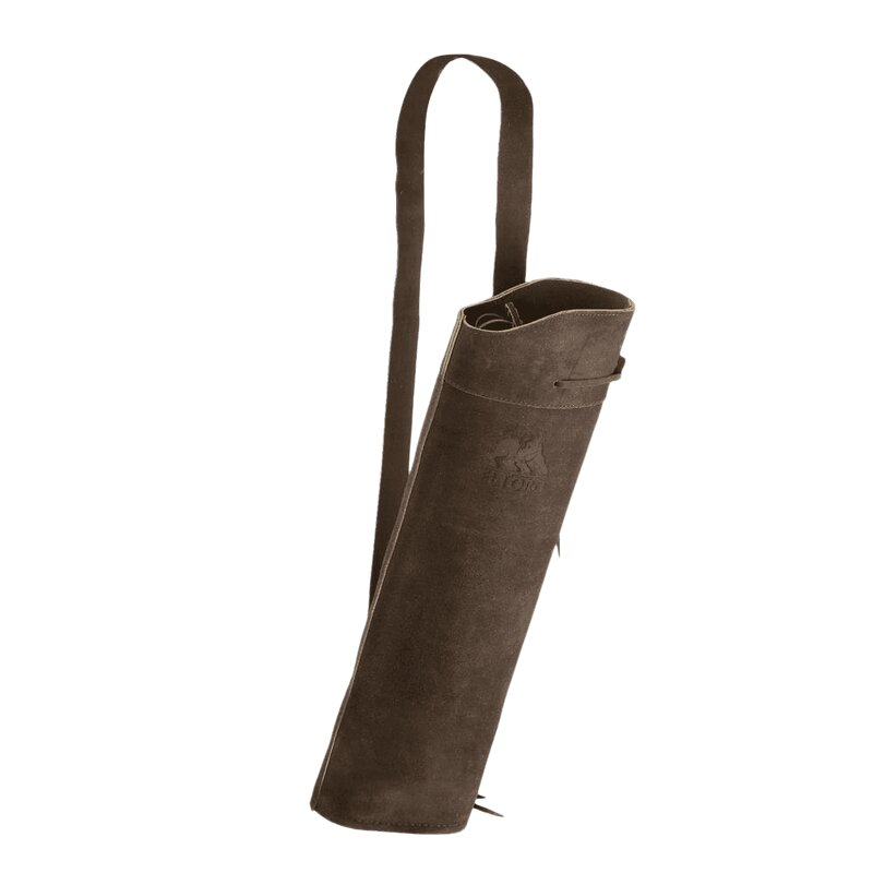 elTORO Back Quiver Traditional Suede Leather Dark