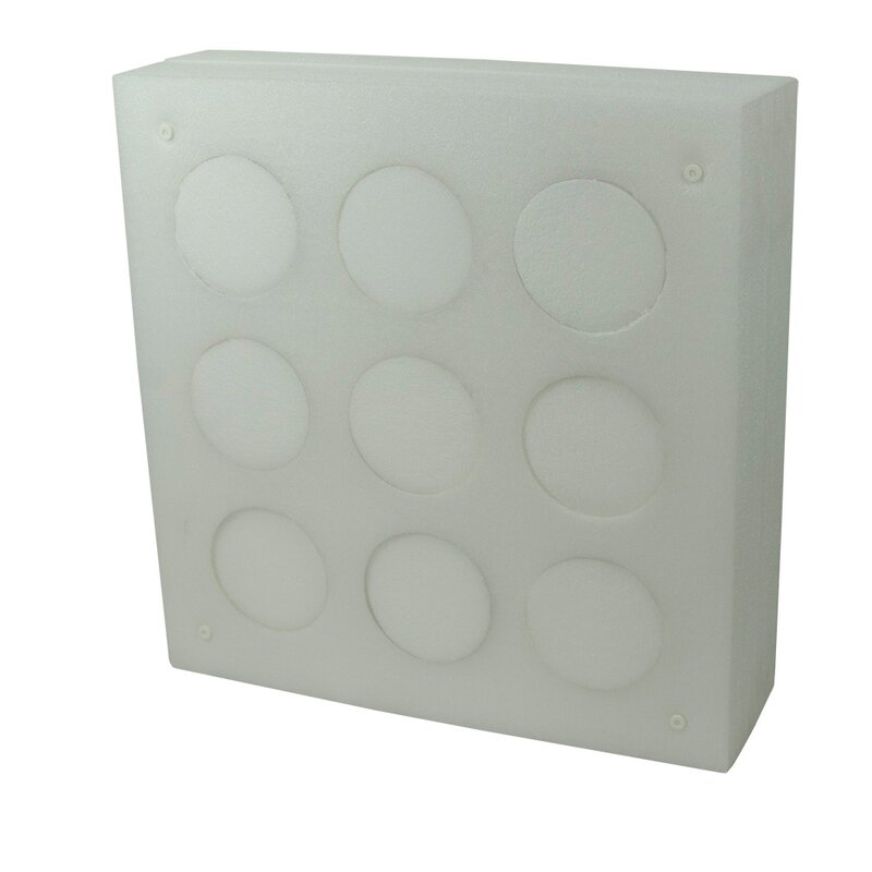 STRONGHOLD Professional 1 - 80x80x20 cm - with 9 Replaceable Middles [***]