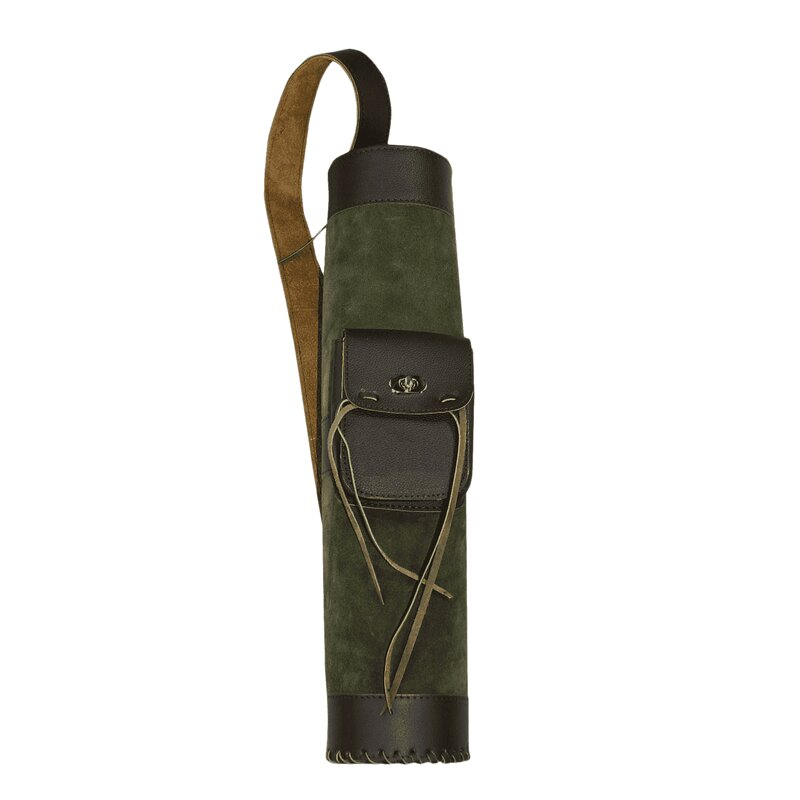 elTORO Back Quiver Big Tube 1 with Attached Pocket