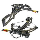 SET X-BOW Scorpion II - 370 fps / 185 lbs - Compound Crossbow | Colour: Camo