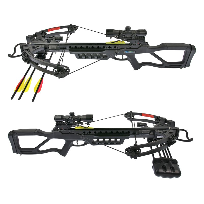 [SPECIAL] X-BOW Scorpion II - 370 fps / 185 lbs - Colour: Black - incl. Zeroing Shooting Service at 30m