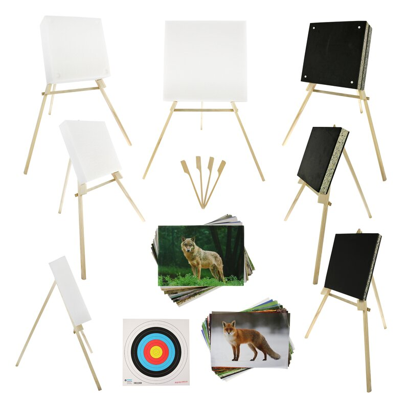 BEGINNER´S SET | Target Made of Foam - incl. Stand and Target Faces