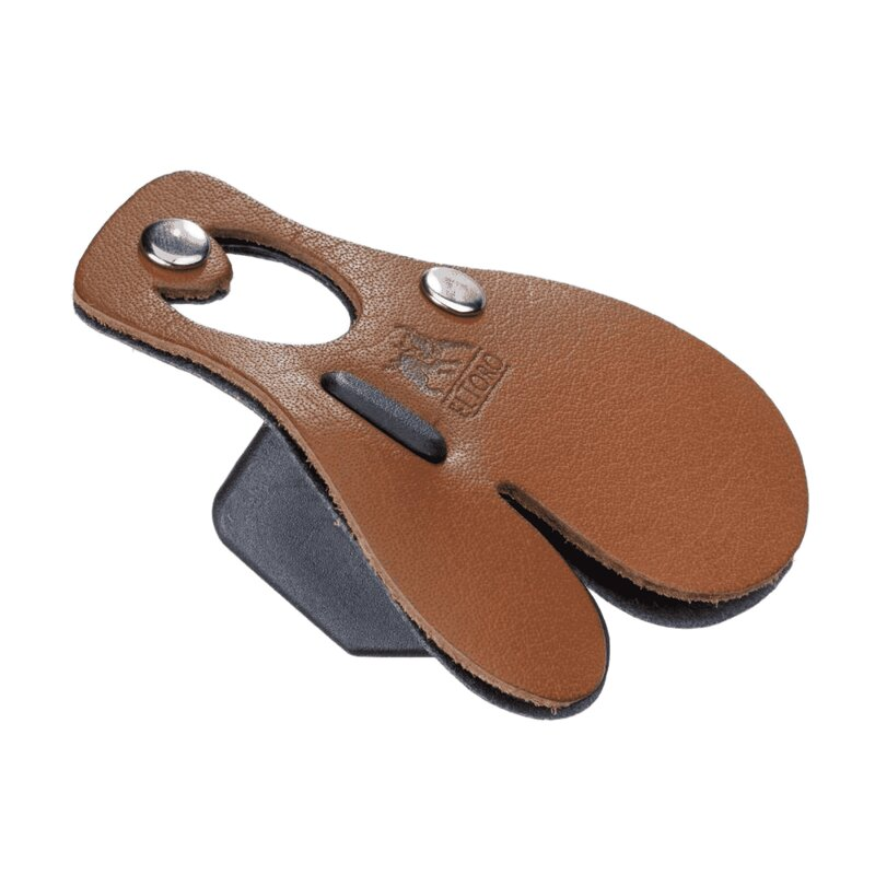 elTORO Leather Tab with Finger Separator - RH or LH