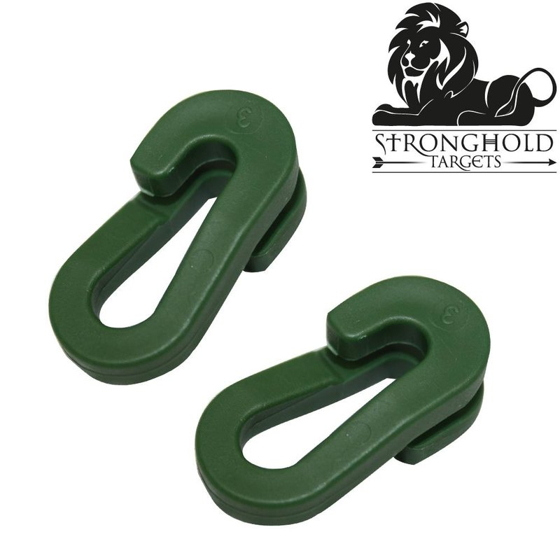 STRONGHOLD Quick Release Rings for Backstop Netting