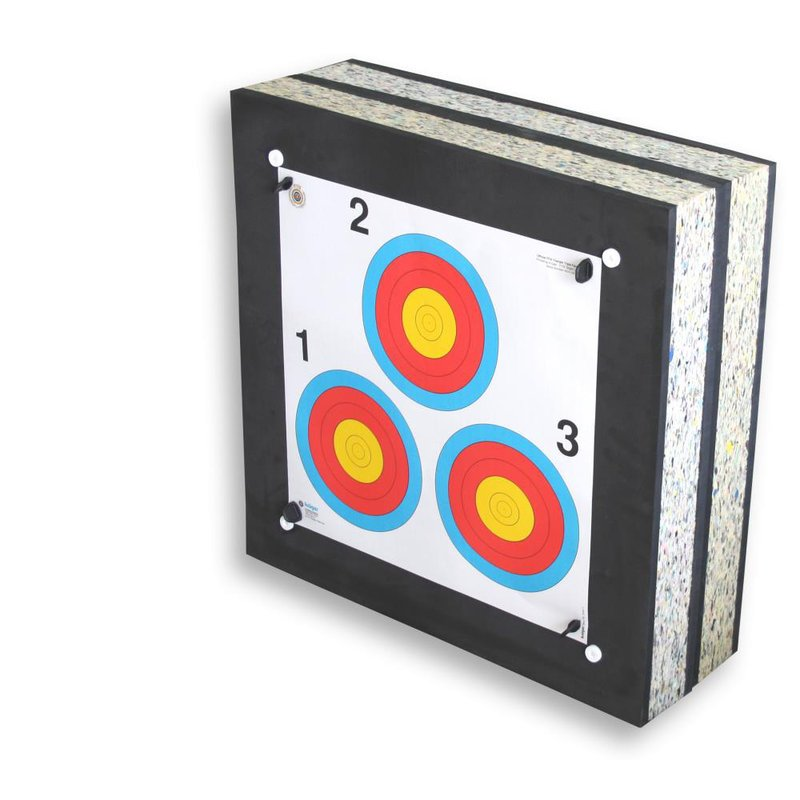 STRONGHOLD Foam Target Crossbow I up to 225 lbs / 350 fps (60x60x20 cm)