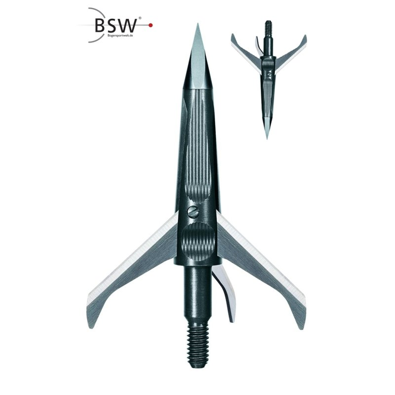 NAP Spitfire MAXX Broadheads - 100 or 125 Grain - 3 Pieces