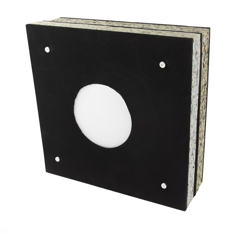 STRONGHOLD Foam Target Black Switch - up to 70lbs (60x60x20 cm)