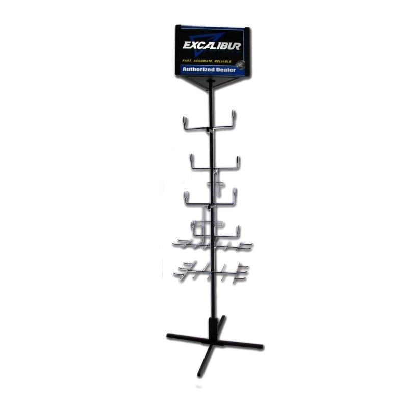 EXCALIBUR Stand for 4 Crossbows and Accessories