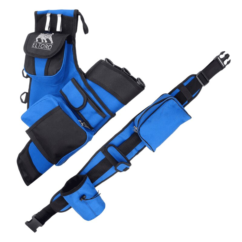 !!TIP!! elTORO Complete Quiver System with Belt and Pockets